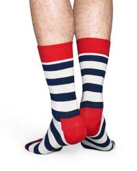 Happy Socks | Multicolor Stripe Navy for Men | Lyst