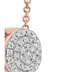 Monica Vinader   Metallic Pave Diamond Necklce   Lyst
