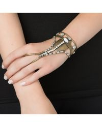 Lionette | Metallic Song Sisters Microphone Glove Handpiece | Lyst