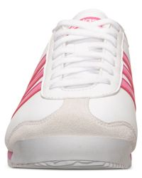 Adidas - White Women'S Runneo Zetroc Td Casual Sneakers From Finish Line - Lyst
