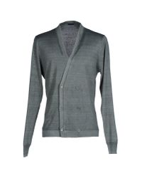 Paolo Pecora - Green Cardigan for Men - Lyst