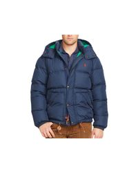 Ralph Lauren - Blue Polo Elmwood Down Jacket for Men - Lyst
