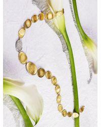 Marco Bicego | Metallic Lunaria Diamond & 18k Yellow Gold Single-station Collar Necklace | Lyst