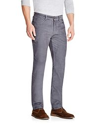 Vineyard vines Relaxed Fit Corduroy Pants in Gray for Men | Lyst