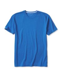 Banana Republic | Blue Soft-wash Vee Tee for Men | Lyst