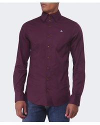 Vivienne Westwood | Red Three Button Orb Shirt for Men | Lyst