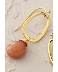 Anthropologie | Orange Dewdrop Earrings | Lyst