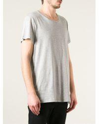 Acne Studios | Gray 'standard' T-shirt for Men | Lyst
