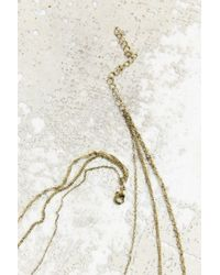 Urban Outfitters | Metallic Layers Of Gold Necklace | Lyst