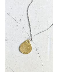 Urban Outfitters - Metallic Lucky Pendant Necklace - Lyst