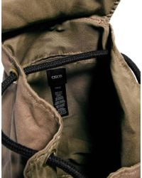 ASOS | Black Backpack Duffle Bag for Men | Lyst