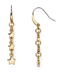 Marc By Marc Jacobs | Metallic Starburst Drop Earrings | Lyst