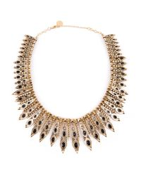 House of Harlow 1960 | Metallic Gypsy Feather Necklace | Lyst