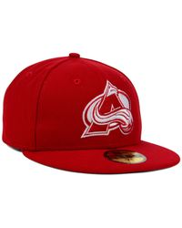 KTZ | Red Colorado Avalanche C-dub 59fifty Cap for Men | Lyst