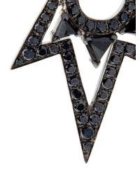 Stephen Webster - Black Diamond, Spinel & Gold Lady Stardust Earrings - Lyst