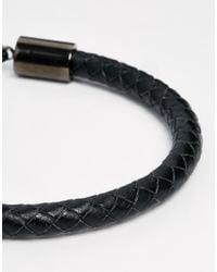 Simon Carter - Black Leather & Semi Precious Bracelet Pack for Men - Lyst