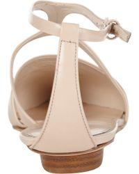Narciso Rodriguez - Pink Harness Tstrap Flats - Lyst