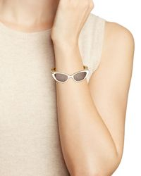 kate spade new york - White In The Shade Bangle - Lyst