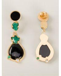 Paula Mendoza - Black Amelie Earrings - Lyst