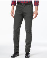 Vince Camuto | Gray Chino Pants for Men | Lyst
