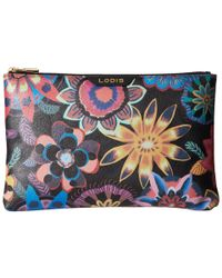 Lodis - Multicolor Vanessa Print Flat Pouch - Lyst
