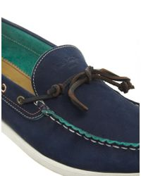 Paul Smith | Blue Aurora Boat Shoes for Men | Lyst