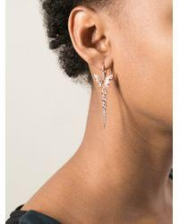 Stephen Webster - Metallic Butterfly Earrings - Lyst