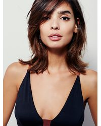 Free People | Black Talisman Soft Bra | Lyst