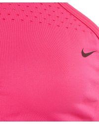 Nike - Pink Fushia Training Bralette - Lyst