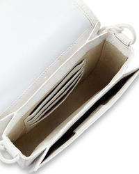 Nancy Gonzalez - White Embellished Small Crocodile Shoulder Bag  - Lyst