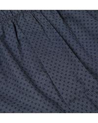 Sunspel - Blue Men's Long-staple Cotton Seasonal Boxer Short for Men - Lyst