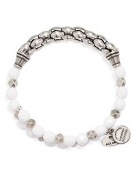ALEX AND ANI - Metallic Vintage 66 Calypso Wrap Bracelet - Lyst