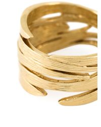 Wouters & Hendrix | Metallic 'Bamboo' Ring | Lyst