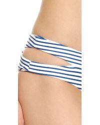 Mikoh Swimwear | Blue Puka Puka Bikini Bottoms - Vintage Sailor | Lyst