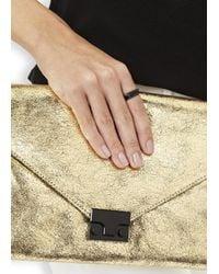 Vitaly | Shapes Matte Black Stainless Steel Rings | Lyst