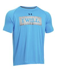 Under Armour | Blue I Will Graphic Tshirt for Men | Lyst