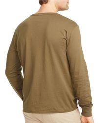 Polo Ralph Lauren | Green Long-sleeved Jersey Tee for Men | Lyst