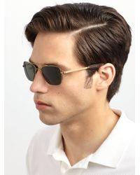 Mosley Tribes | Metallic Cayton Metal Sunglasses for Men | Lyst