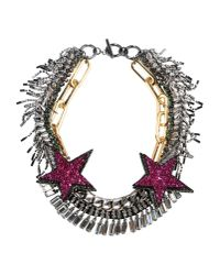 Venna | Metallic Necklace | Lyst