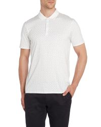 Ben Sherman - Natural Print Polo Regular Fit Polo Shirt for Men - Lyst
