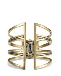 Jenny Bird | Metallic Chamber Cuff | Lyst