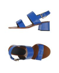 Marni - Blue Sandals - Lyst