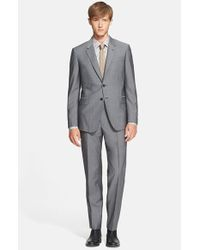 Paul Smith | Gray 'byard' Trim Fit Wool & Mohair Suit for Men | Lyst