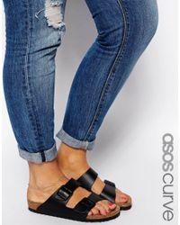 ASOS | Metallic Multi Chain Anklet | Lyst