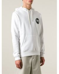 Soulland - White 'eclipse' Hoodie for Men - Lyst