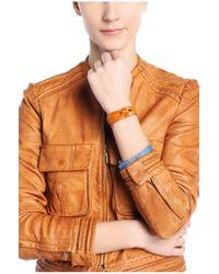 BOSS Orange - Orange Woven Leather Bracelet: 'maxine' - Lyst