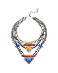 DANNIJO | Metallic Tipton Necklace | Lyst