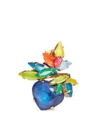 Erickson Beamon | Multicolor 'Splash' Neon Crystal Ring | Lyst