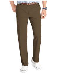 Izod - Green Pants, Saltwater Slim Fit Chinos for Men - Lyst