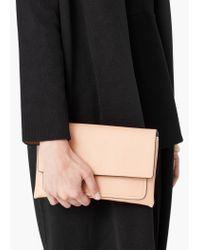 Mango | Natural Flap Cross-body Bag | Lyst
